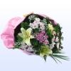 Хризантеми и лилиуми – Букет